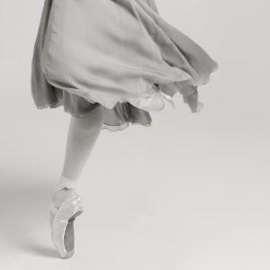 Bailarina en puntas